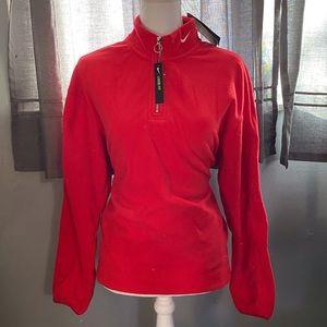 Nike loose fit fleece quarter zip